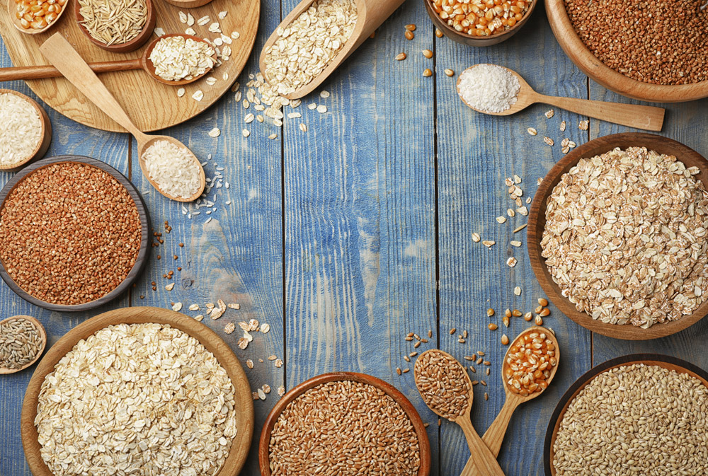 COOKING WITH GRAINS AND FLOURS