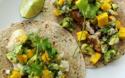 Easy Fish Tacos with Mango Salsa