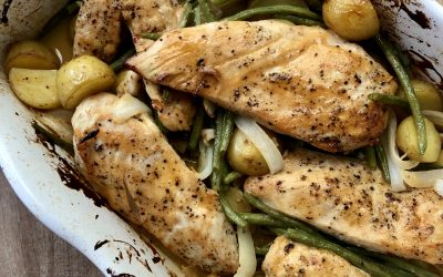 Honey Dijon Chicken with Vegetables